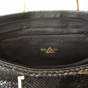 Vintage Bags - VINTAGE EMP OR BLACK GOLD PURSE